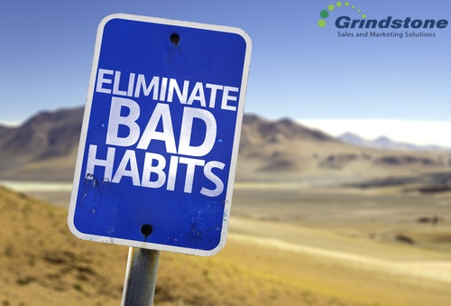 Have you fallen into bad B2B sales habits.